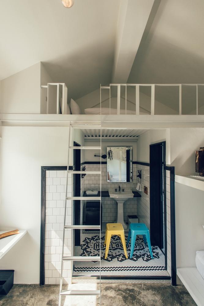 美式工業風/室內空間設計/+樂水 Hotel de Plus/屏東滿州/臺灣