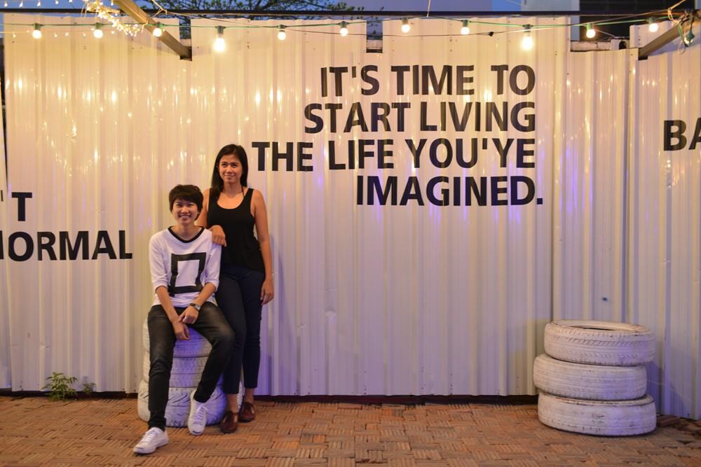 創辦人Eve 和 Yo/ArtBox Thailand/泰國貨櫃藝遊市集/曼谷/泰國