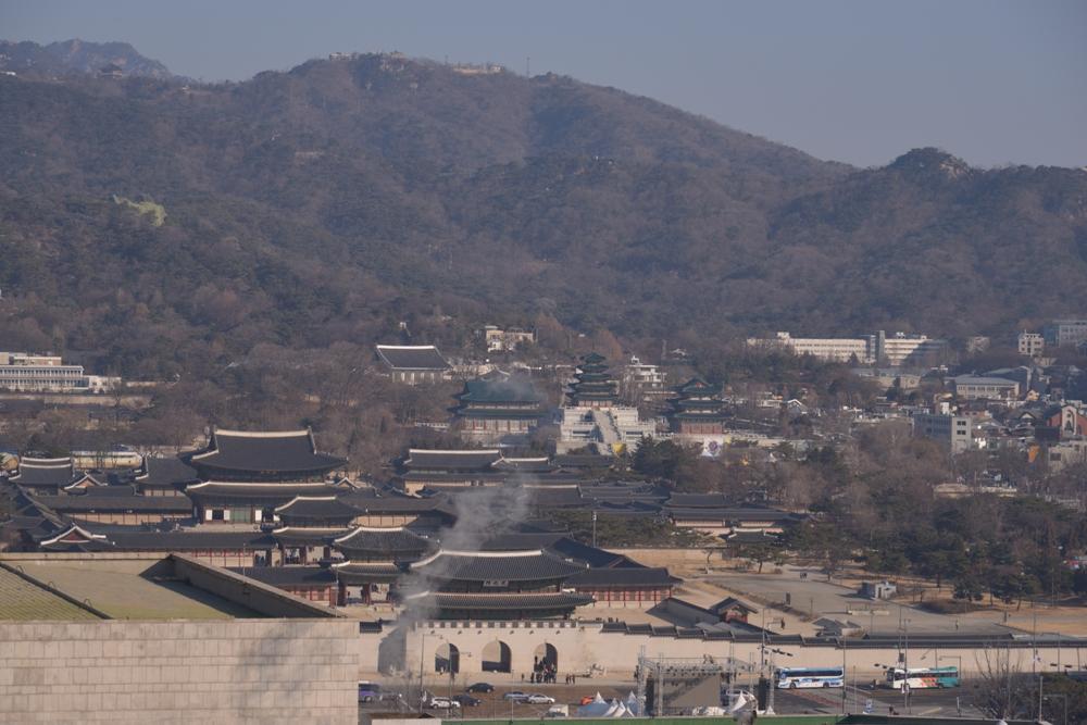 光化門廣場景致/Four Seasons Hotel Seoul/首爾/韓國