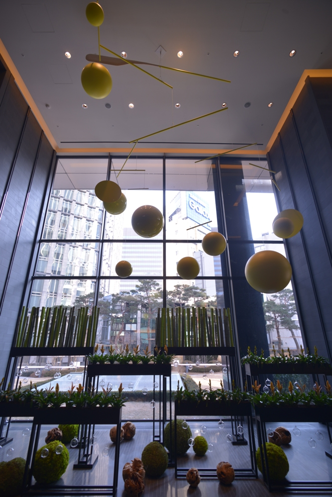 大片落地窗/Four Seasons Hotel Seoul/首爾/韓國
