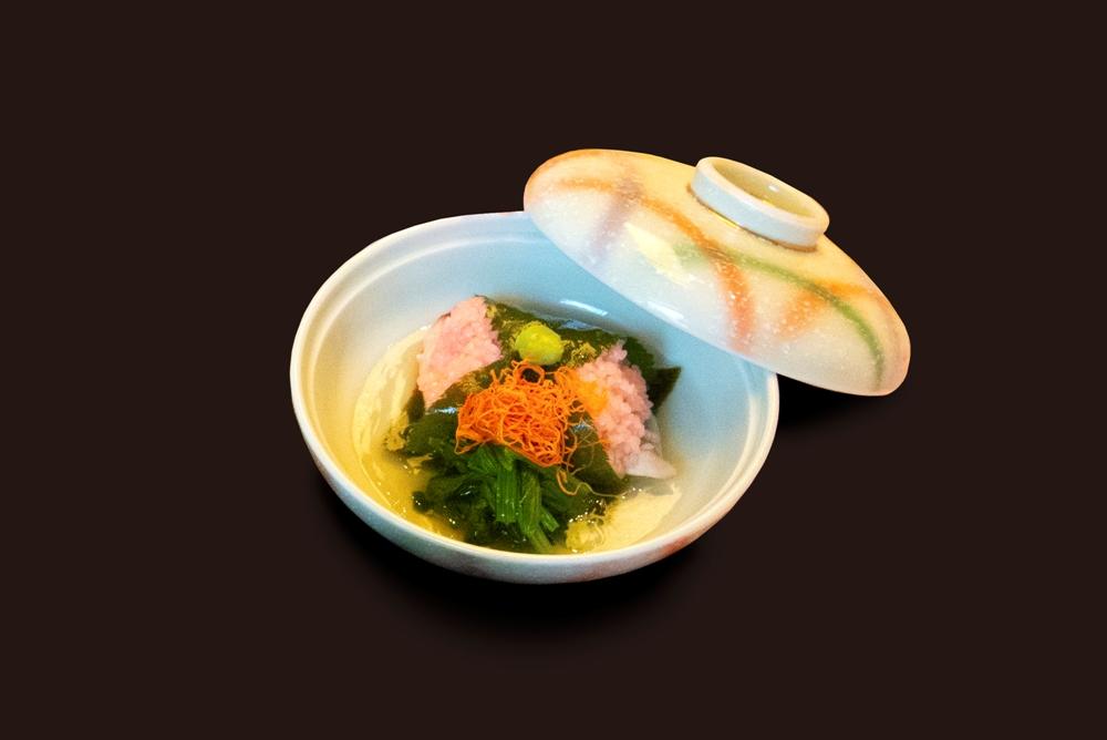 大倉久和大飯店/山里日本料理餐廳/櫻膳/鰆魚櫻花蒸/台北/台灣