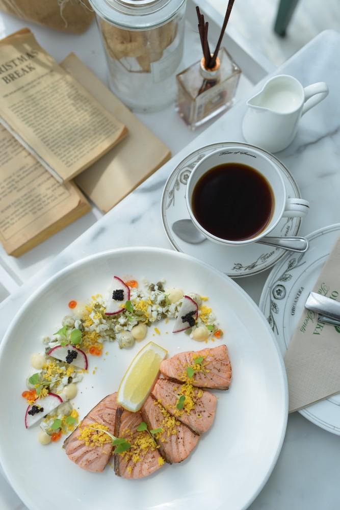 Organika Café & Restaurant/健康料理/蒔蘿鮭魚/香氛/曼谷/泰國
