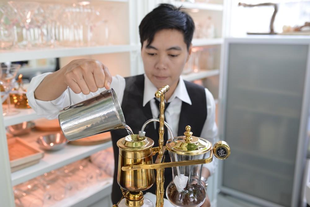 Organika Café & Restaurant/有機咖啡/比利時皇家咖啡壺/香氛/曼谷/泰國