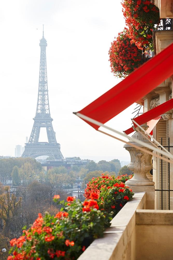 Hôtel Plaza Athénée - Royal Suite/陽台/巴黎/法國