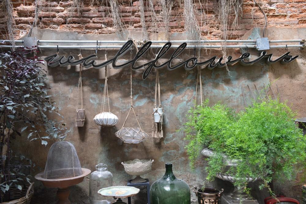 Oneday Wallflowers/咖啡館/綠意/花藝/曼谷/泰國