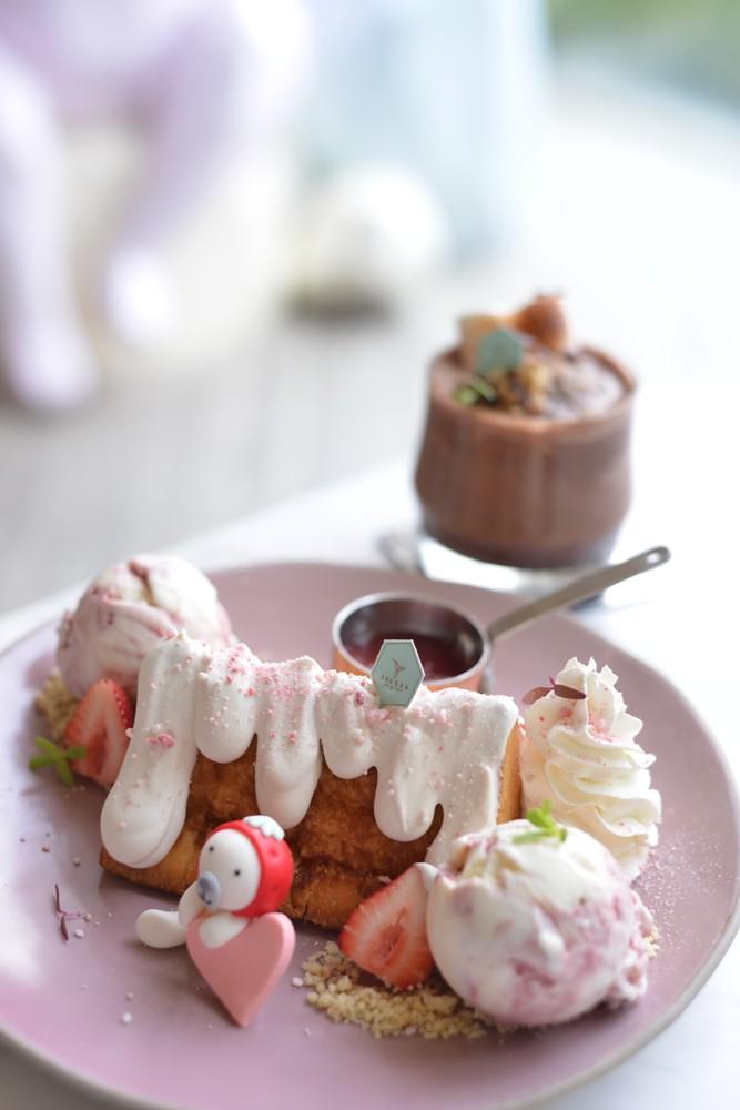 SHUGAA Dessert Bar/翻糖蛋糕 /手工草莓冰淇淋/曼谷/泰國