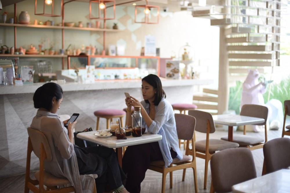 SHUGAA Dessert Bar/翻糖蛋糕店/內部 /曼谷/泰國