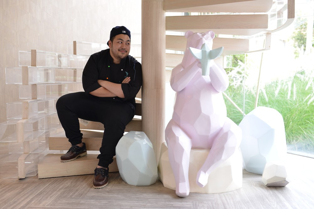 SHUGAA Dessert Bar/翻糖蛋糕 / B'wish /雕像/熊/蜂鳥/曼谷/泰國