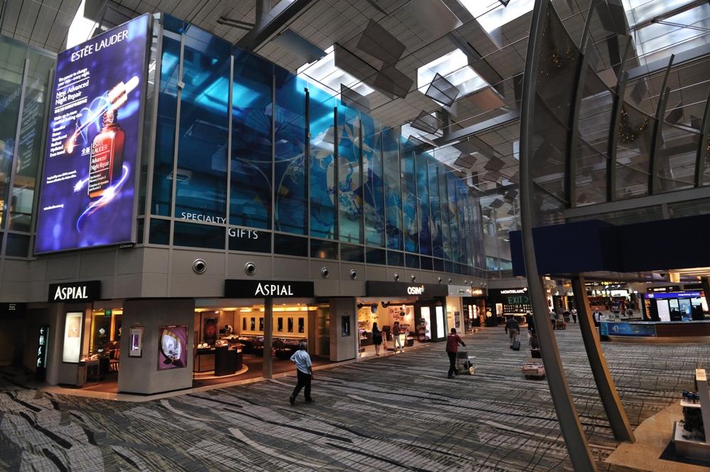 樟宜機場/新加坡