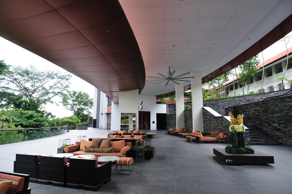 嘉佩樂酒店/室外/沙發/新加坡