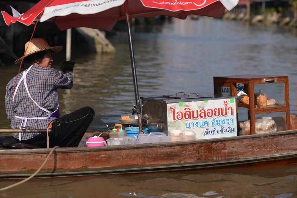 小船攤販/Amphawa Floating Market/湄公河/曼谷/泰國