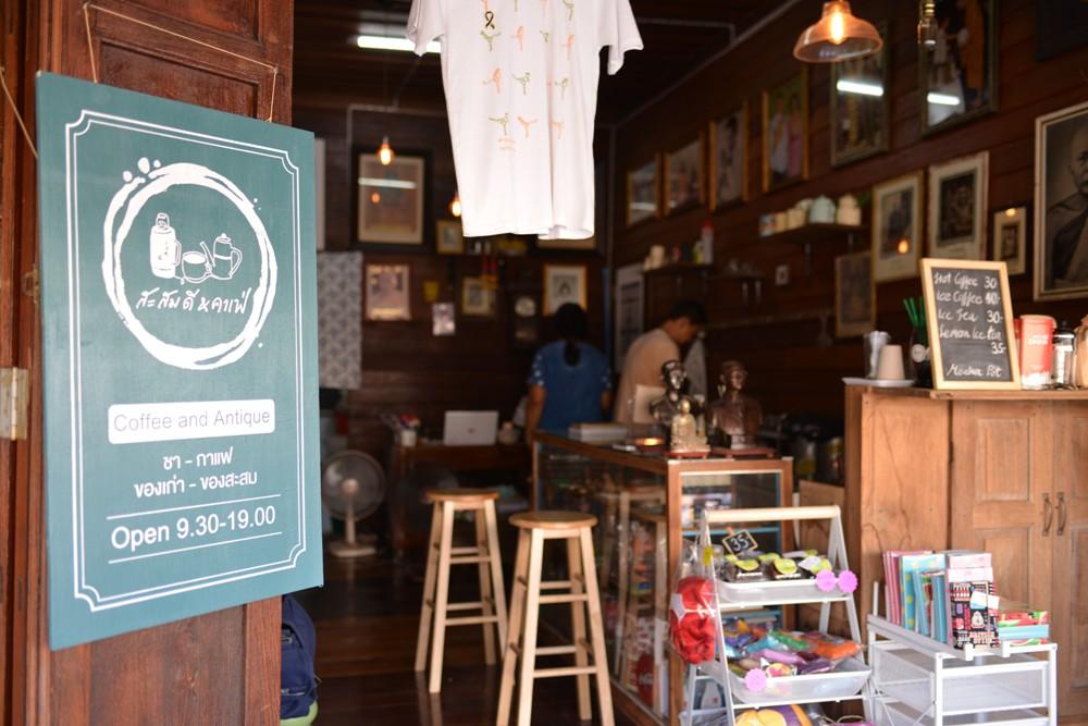 古董咖啡館/Amphawa Floating Market/湄公河/曼谷/泰國