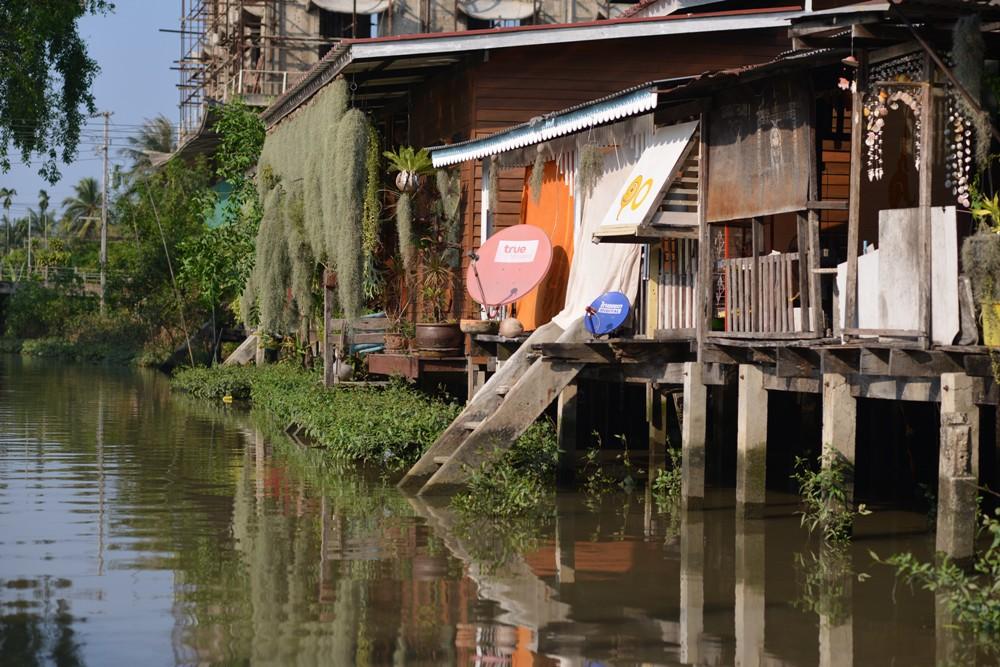 高腳屋住居/Amphawa Floating Market/湄公河/曼谷/泰國