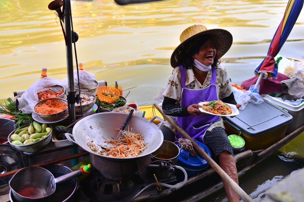 Amphawa Floating Market/湄公河/曼谷/泰國