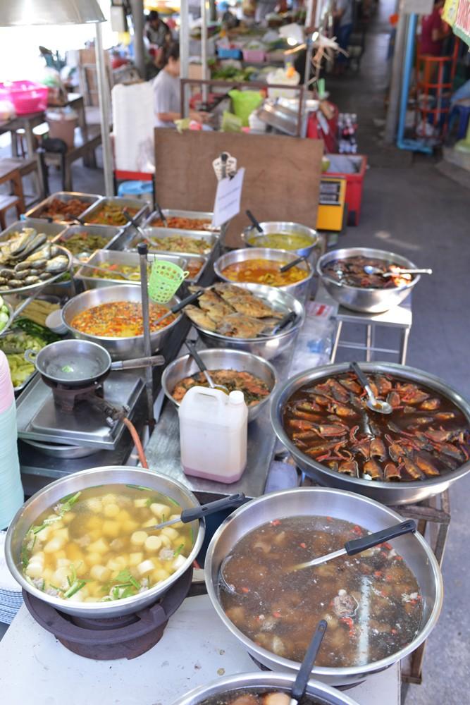 在地熟食小攤/Amphawa Floating Market/湄公河/曼谷/泰國