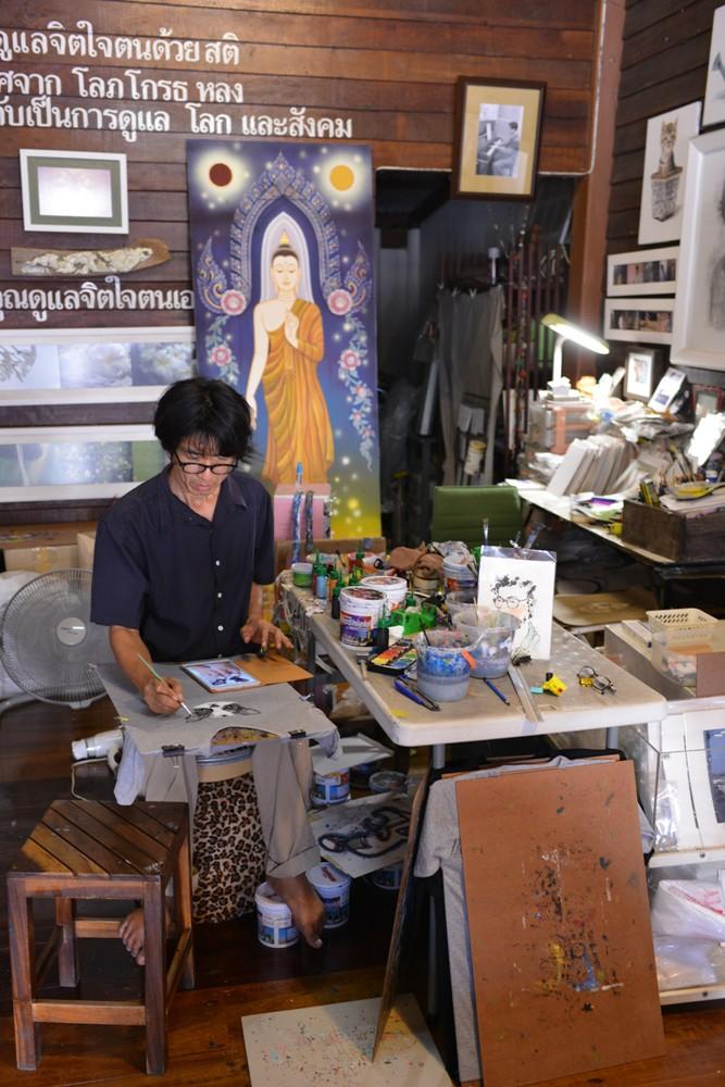 小畫室/Amphawa Floating Market/湄公河/曼谷/泰國