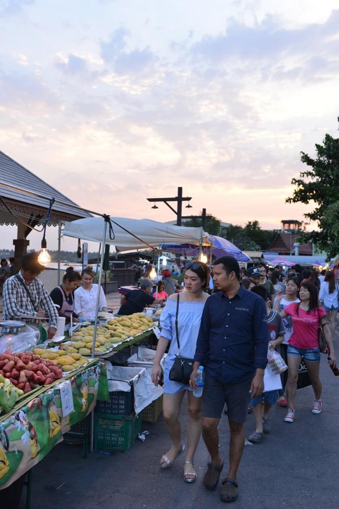 集市/Amphawa Floating Market/湄公河/曼谷/泰國