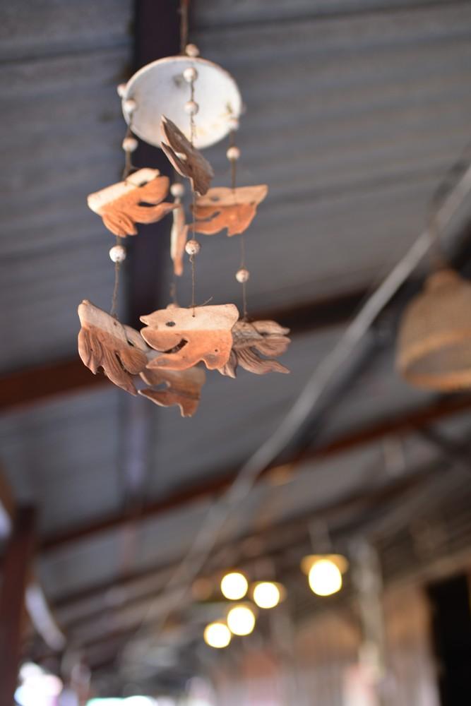 歪頭魚吊飾/Amphawa Floating Market/湄公河/曼谷/泰國