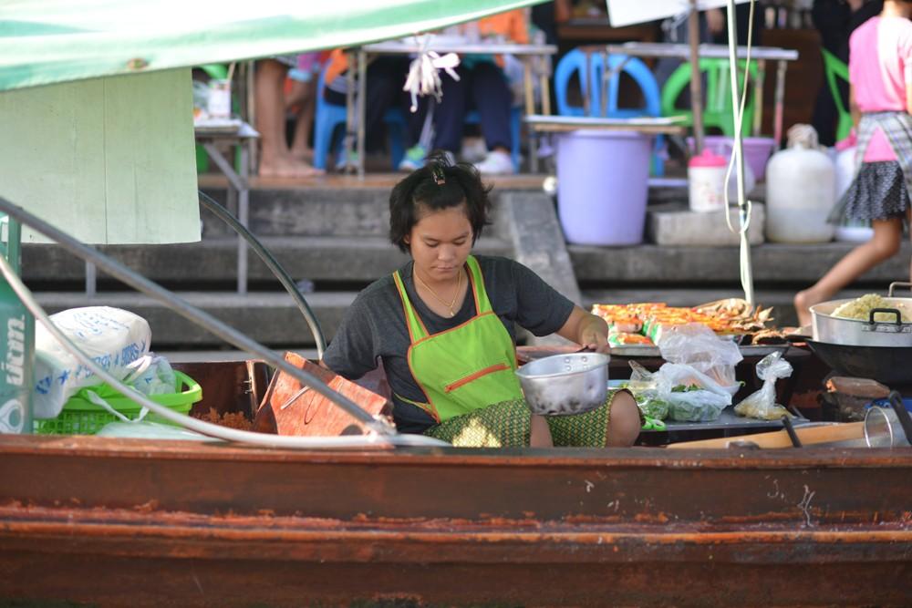 攤販小船/Amphawa Floating Market/湄公河/曼谷/泰國