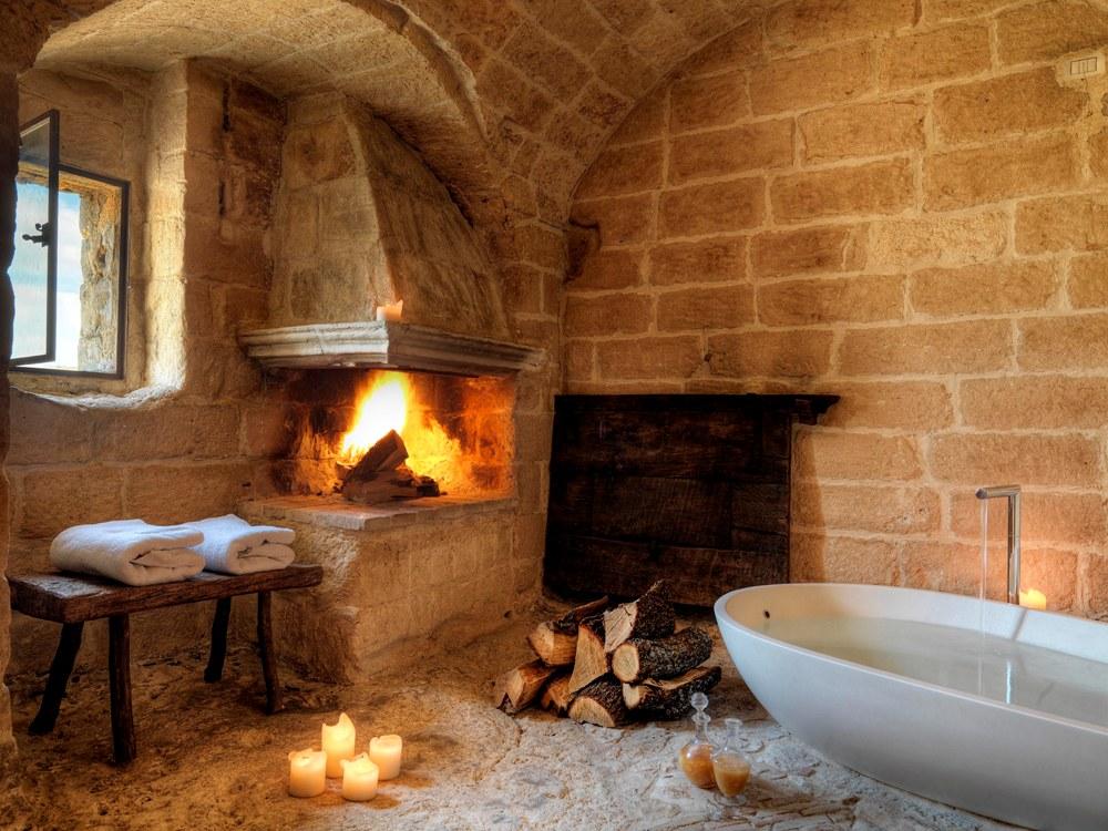浴室/Sextantio Albergo Diffuso/Matera/Italy