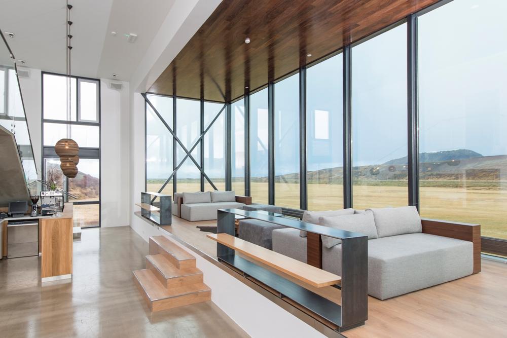全景玻璃窗/大廳/ION Luxury Adventure Hotel/冰島