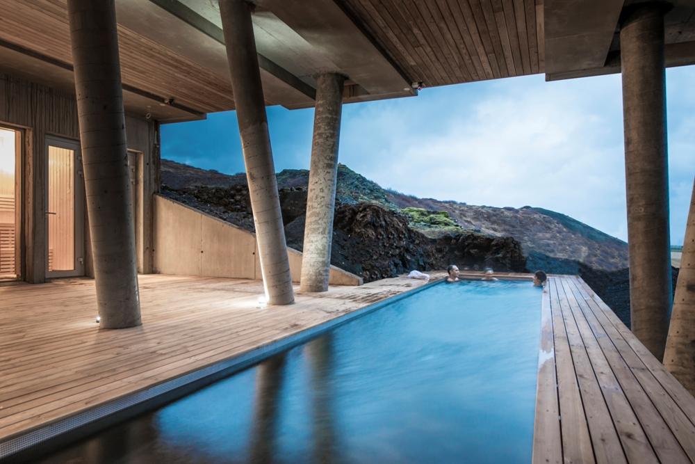 大型露天浴池/ION Luxury Adventure Hotel/冰島