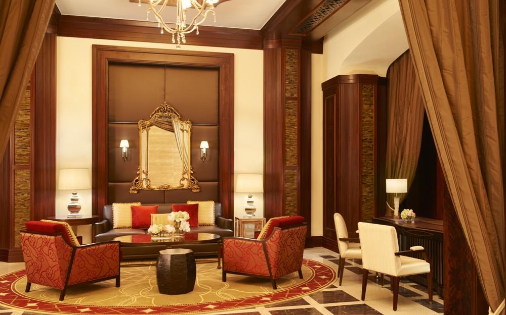 客廳/The St. Regis Abu Dhabi/阿布達比/阿拉伯聯合大公國