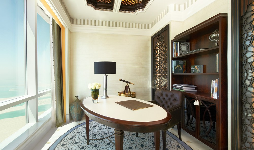 書房/The St. Regis Abu Dhabi/阿布達比/阿拉伯聯合大公國
