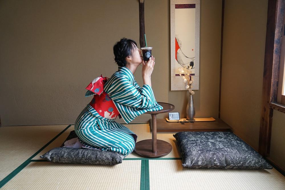 二年坂星巴克/京都/打卡景點/神社/和服