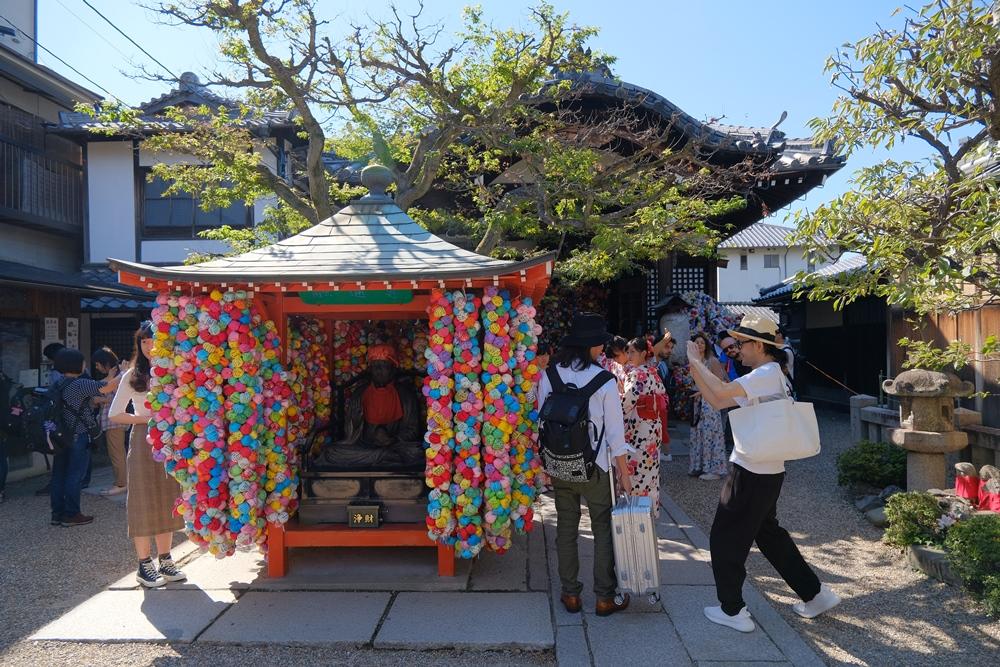 八坂庚申堂/京都/打卡景點/神社/和服