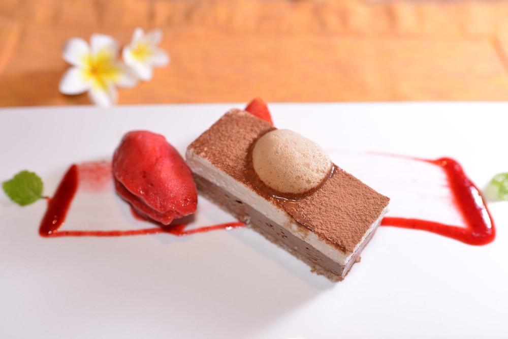Hua Hin Marriott Resort & Spa/地中海料理餐廳Coast/裸食/提拉米蘇
