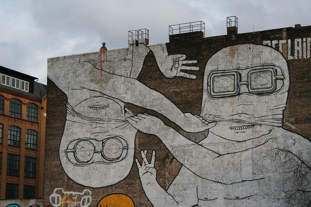 當代藝術/街頭塗鴉藝術/柏林/德國