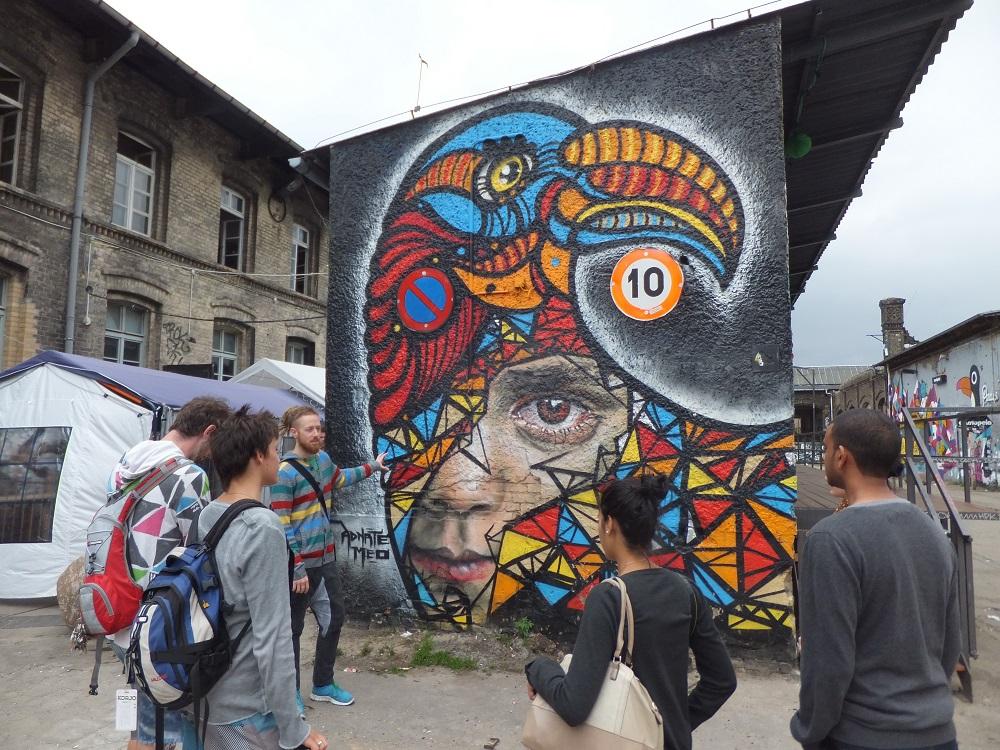 東區藝廊/城市散步/Alternative Berlin/導覽團/柏林/德國