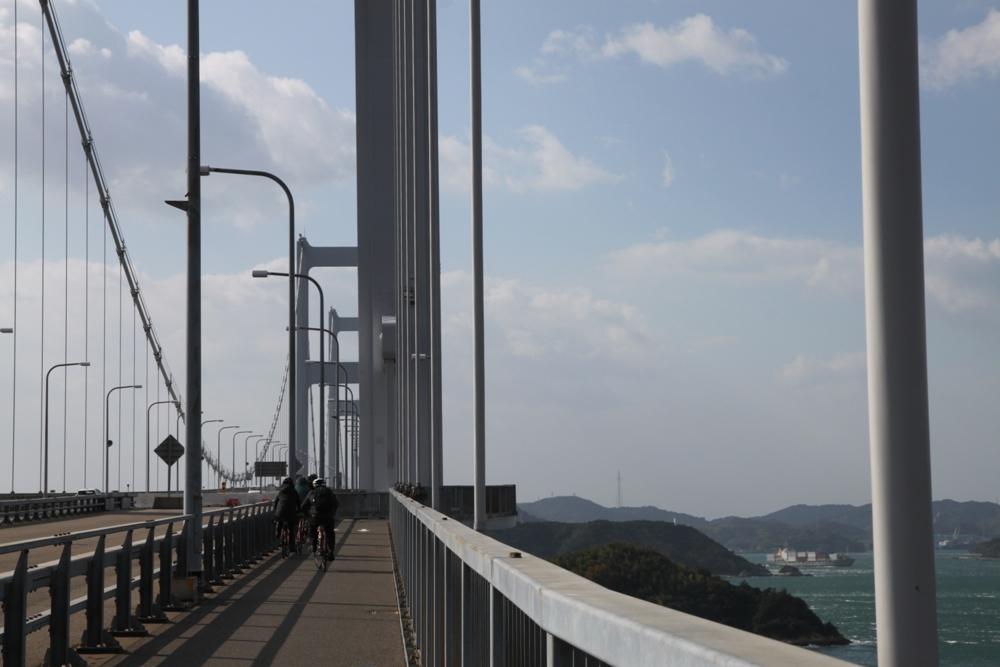 瀨戶內海/來島海峽大橋/西瀨戶自行車道/日本