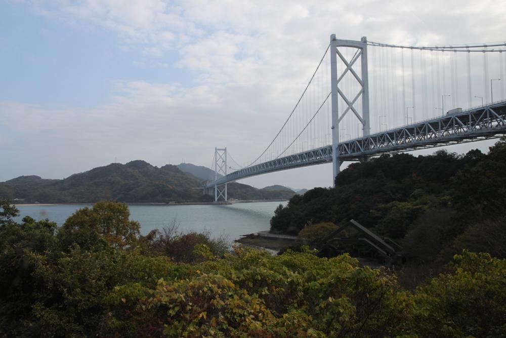瀨戶內海/來島海峽大橋/日本
