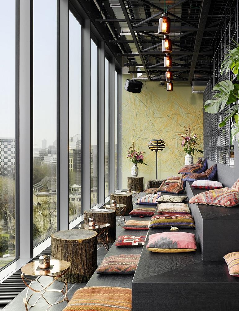 25 Hours Hotel Bikini Berlin/沙發休息區/觀景窗/旅館/柏林/德國