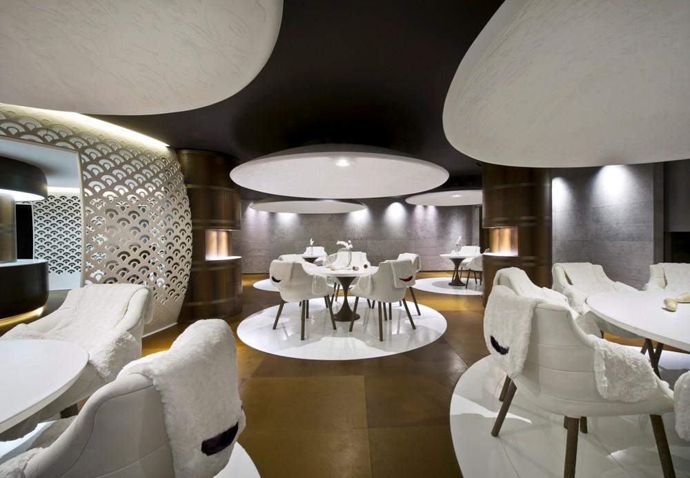 餐廳/Cheval Blanc Courchevel/阿爾卑斯/法國