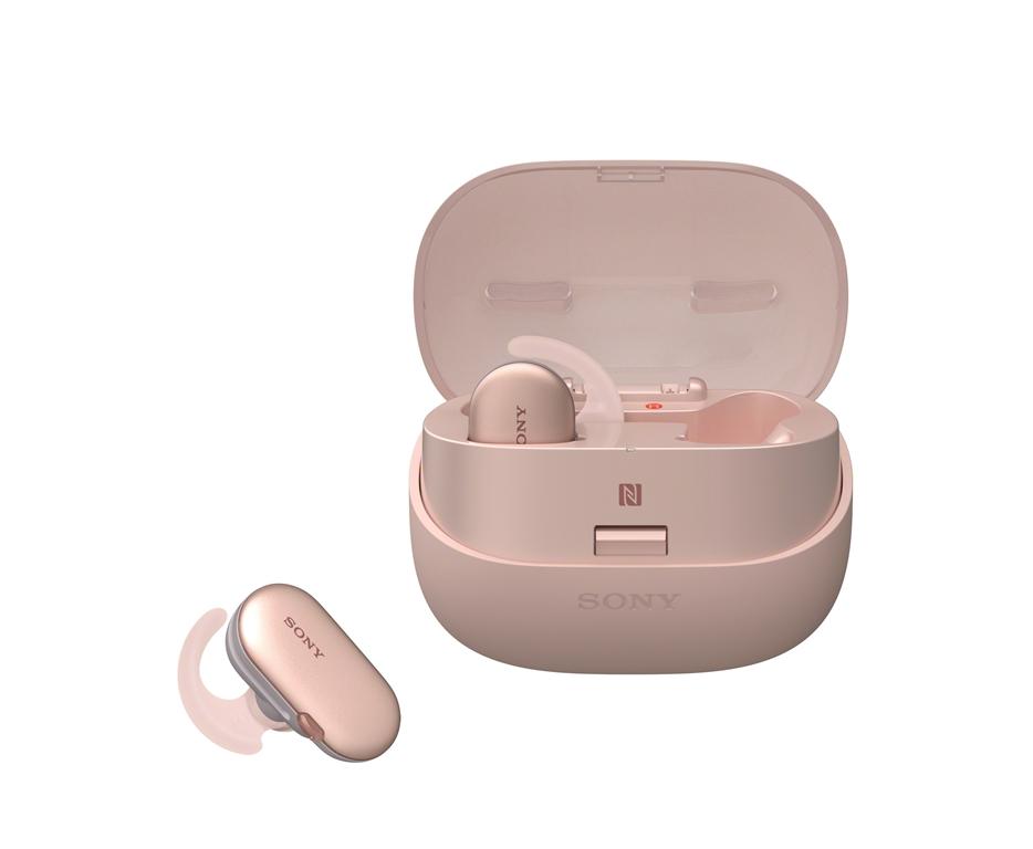 粉紅色/櫻花季/旅行配件/Sony/WF-SP900真無線運動防水耳機/春天/春季