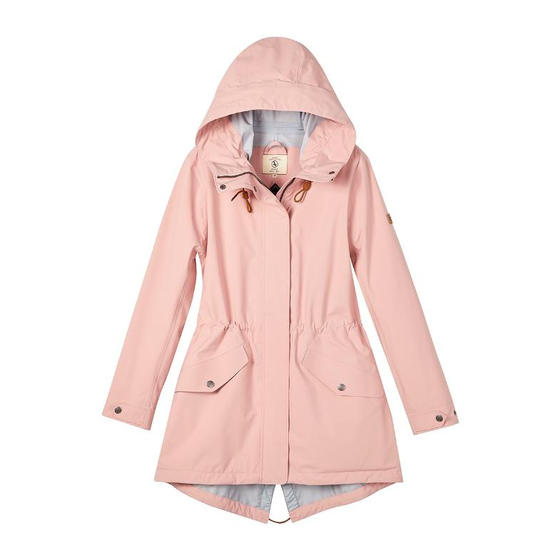 粉紅色/櫻花季/旅行配件/AIGLE/GT防水透氣長版外套/春天/春季