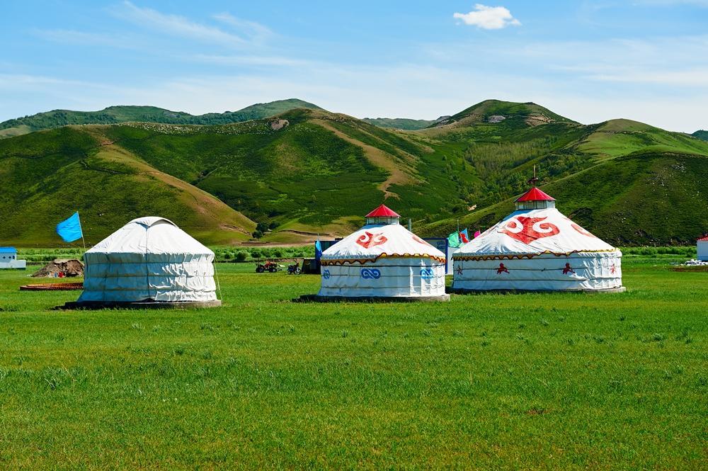 蒙古包/內蒙/沙漠