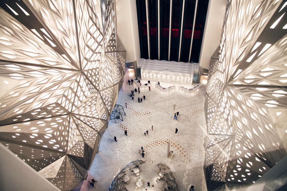 Zaha Hadid/札哈.哈蒂/摩珀斯/Morpheus/澳門酒店/米其林
