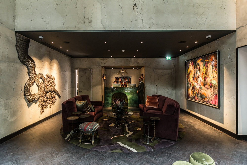 The Mandrake Hotel/倫敦/英國/設計旅宿/曼陀草
