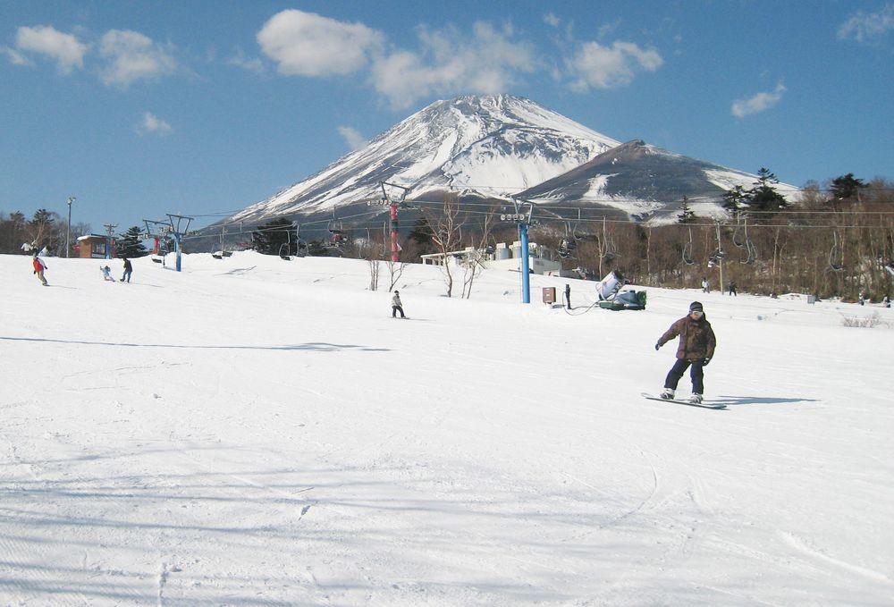 富士山_滑雪