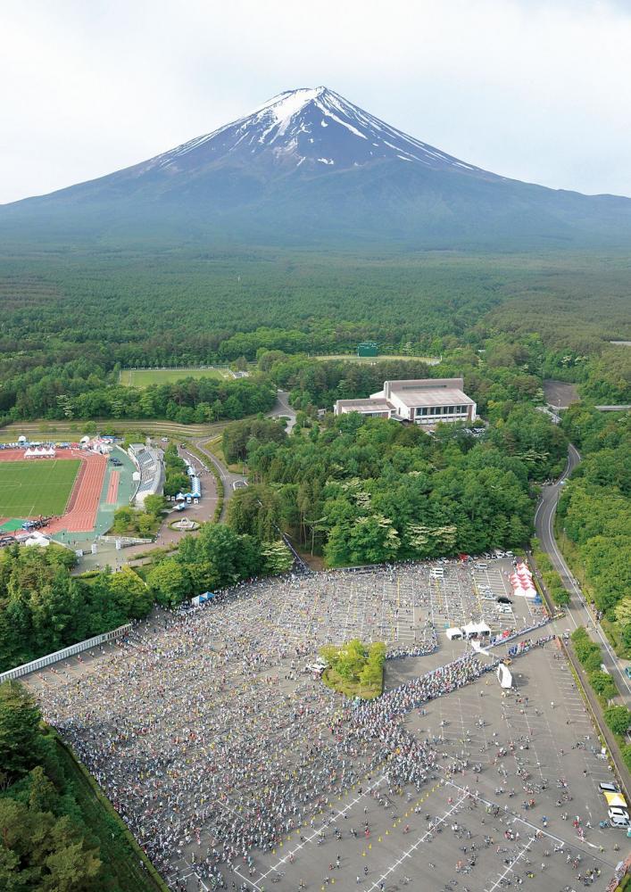 富士山_自行車越野賽