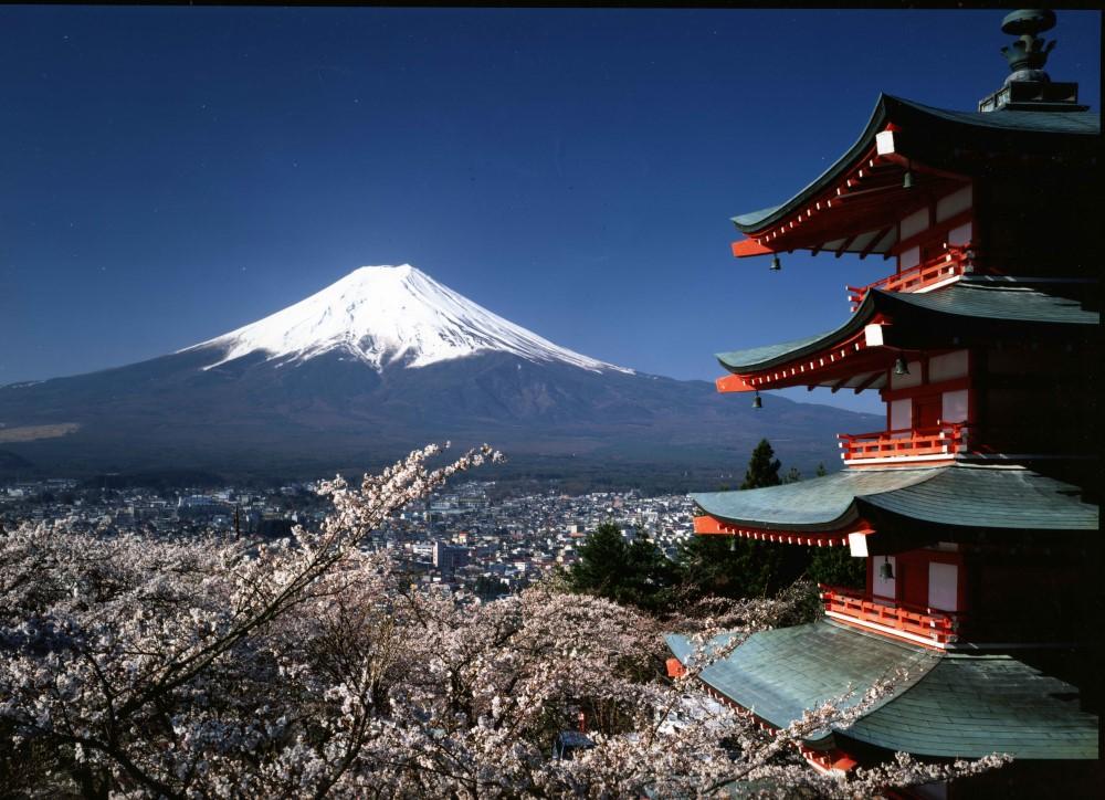 日本/新倉山淺間公園/忠靈塔
