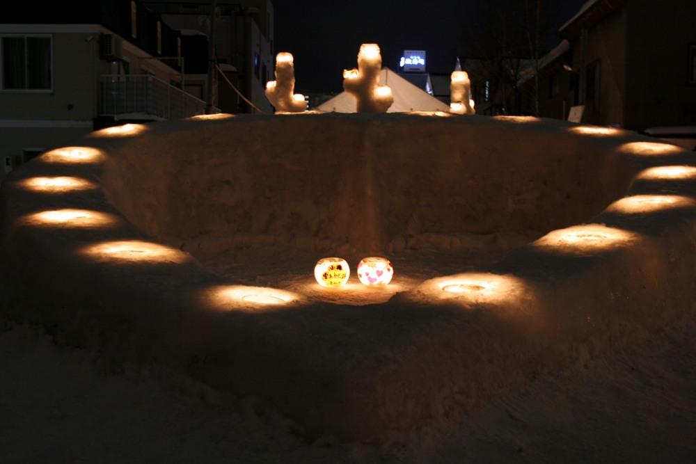 小樽雪燈之路/北海道/日本