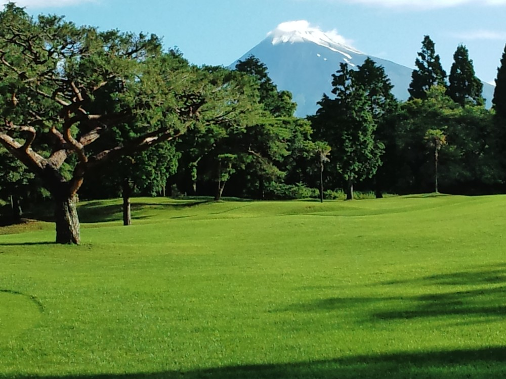 大富士高爾夫球場/富士山/日本