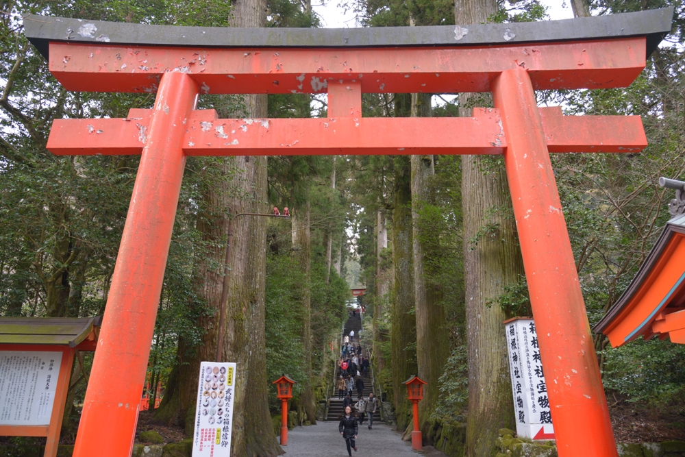 登山石道/箱根神社/箱根/日本