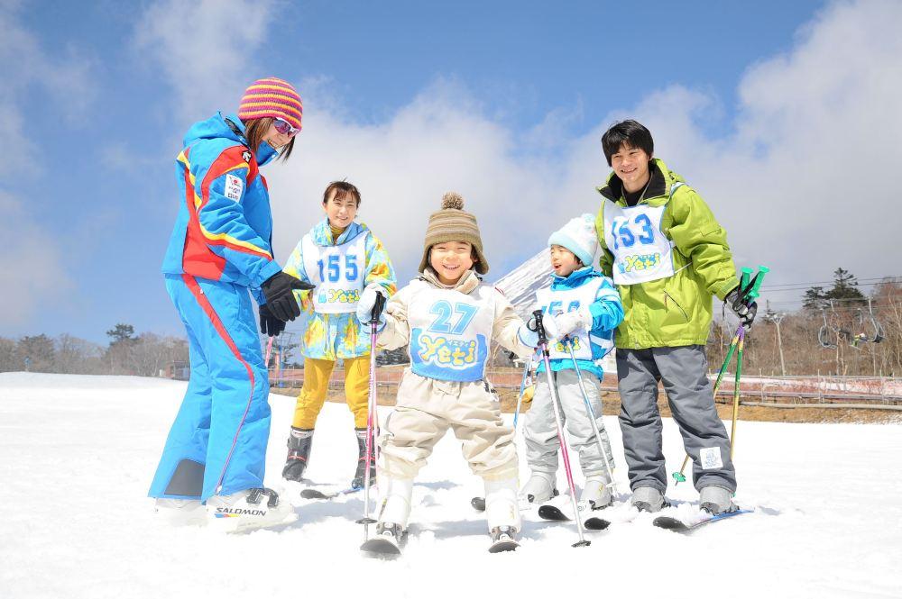 Yeti滑雪場/富士山/日本