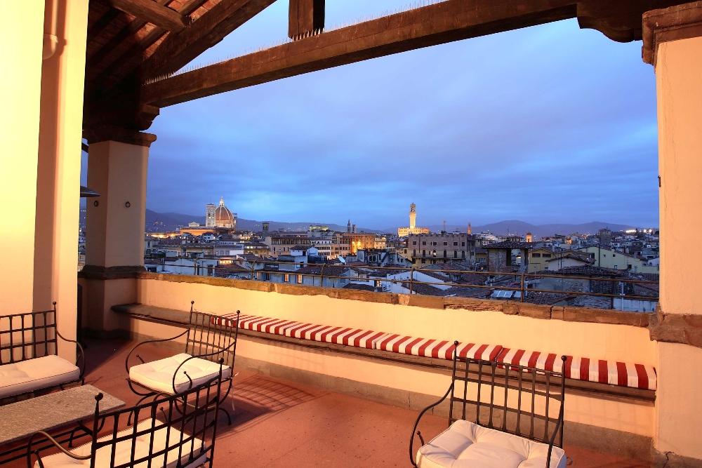 屋頂陽台/一覽美景/Palazzo Magnani Feroni/佛羅倫斯/義大利
